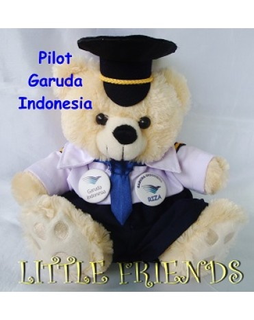 Boneka Profesi Pilot Garuda Indonesia 7490590b18